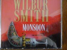 4 CD AUDIO BOOK - MONSOON - Wilbur Smith