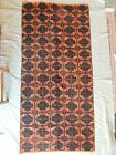 Collectible hand made carpet on the loom 2 meters x 93cm from Thrace Greece