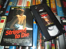 VHS - Stripped to Die - Monica Guerritore - Gabriele Lavia - Italo - VPS