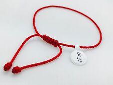 Simple Pulsera Roja Para Protecion # 18