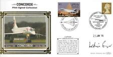 Benham Concorde Capt Leslie Scott pilote signé Cover 21-1-06 Heathrow SHS F1