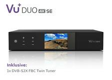 VU+ Duo 4K SE 1x DVB-S2X FBC Twin Tuner PVR ready Linux Receiver UHD 2160p