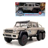 Jada 1:24 Die-Cast Jurassic WorldMercedes-Benz G63 AMG 6x6 Car Model Collection