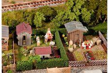Faller 180494 HO 1/87 2 Jardins d'ouvrier avec cabane