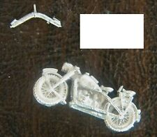 SHQ GV011 1/76 Diecast WWII German Solo Motorcycle