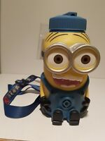 Large minions Despicable Me drink bottle lanyard Universal Studios 21cm high