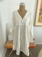 NWOT Rabens Saloner Cotton Dress. Size Large. RRP $299 Worn Once