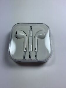 ⚡ Apple 3.5mm EarPods In-Ear White Genuine OEM - BRAND NEW - FAST US SHIP TSG ⚡