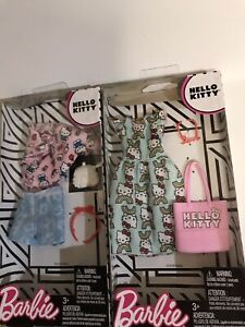 Barbie Hello Kitty sets / Clothes