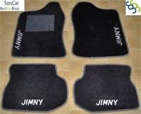 SUZUKI JIMNY TAPPETI tappetini AUTO + 4 decori +4 block