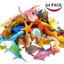 12 Stück Plastik Vivid Tropical Fish Vorschule Pädagogische Fischfigur für