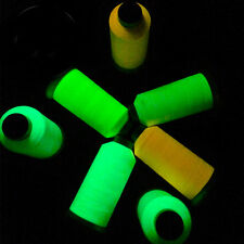 1000yd Glow In The Dark Embroidery Spool Luminous Sew Multipurpose Thread String