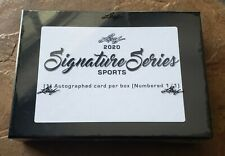2020 LEAF SIGNATURE SERIES SPORTS BOX (1/1 AUTOGRAPH IN EVERY BOX!) Sealed Auto