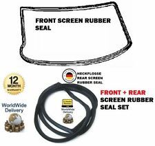 FOR MERCEDES HECKFLOSSE W110 W111 W112 1959> FRONT + REAR WINDSCREAN RUBBER SEAL