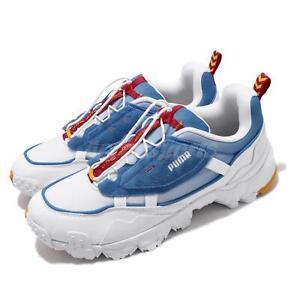 Puma Trailfox Overland SONIC SEGA White Blue Red Yellow Men Lifestyle 373431-01