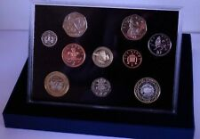 2004 Royal Mint Proof Coin Set - Collection 10 Coins