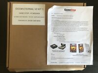 DOOM ETERNAL Gamestop V2 Promo Kit — Stickers + Cube + Posters + Displays — RARE