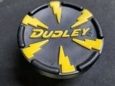 yellow Dudley lightning softball bat end cap senior