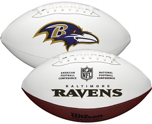 BALTIMORE RAVENS NFL Wilson Autograph Series Full Size FOOTBALL