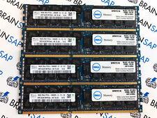 64GB (4x 16GB) DDR3 Hynix HMT42GR7MFR4A-H9 REG ECC - 2Rx4 PC3L-10600R-9-12-E2