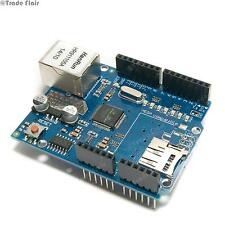 RETE Ethernet Shield per Arduino UNO Mega W5100 nuovo con slot per schede SD