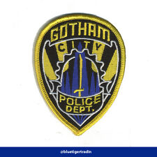 Batman Gotham Police Department Crest Logo Iron-On Sew On Patch