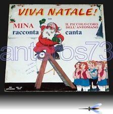 """MINA """"VIVA NATALE"""" RARO LP- PICCOLO CORO DELL'ANTONIANO"""