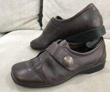 SUPER COMFY Womens Josef Siebel Size 42 Ladies Brown Leather Shoes