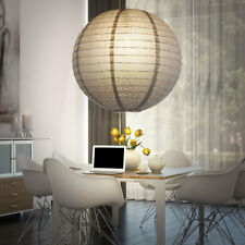 Lampe à suspension espace de travail boule pendentif Lampe de plafond papier E27