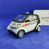 Smart City Coupe Austrian Police Car 1998 Year 1/43 Scale Diecast Model Car