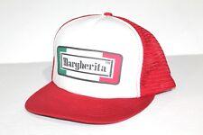 Vintage & Rare Margherita Trucker Mesh Hat Snapback Pepperoni Advertisement