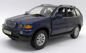 Kyosho 1/18 Scale Diecast - 80439411688 BMW X5 3.0D Dark Blue