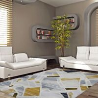 New Designer Abstract Collection Soft Fine Floor Rug Carpet All Sizes