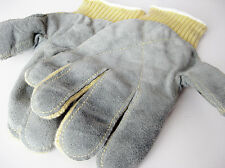 HEAVY DUTY KEVLAR KNITTED LEATHER GLOVES MEDIUM/LARGE - DU PONT