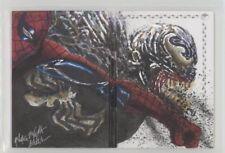 2017 Marvel Premier Dual-Panel Sketch Spider-Man vs Venom by Mick & Matt Glebe