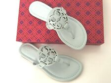 58547376813 Tory Burch Miller Flip Flop Thong Leopard Patent Leather Sandal 4 US