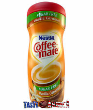 Nestle Coffee Mate Sugar Free Vanilla Caramel Creamer 289.1g Coffee-Mate