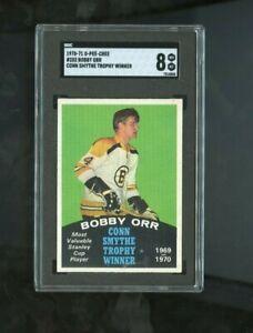 1970 O-Pee-Chee #252 Bobby Orr SGC 8 NM-MT