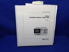 HP 3562A DYNAMIC SIGNAL ANALYZER SERVICE MANUAL VOLUME 1