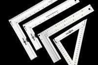 Carpenter Measure Tool Stainless Steel 90° Right Angle Ruler Trigonometric Ruler