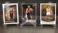 2019-20 Clearly Donruss Keldon Johnson RC Spurs Lot Murray, Walker Rookies
