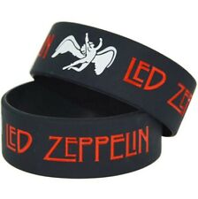 Led Zeppelin 25mm Silicon Rubber Wristband