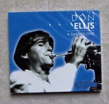 "CD AUDIO MUSIQUE / DON ELLIS ""A SIMPLEX ONE"" 5T CD ALBUM 2002 JAZZ NEUF SEALED"