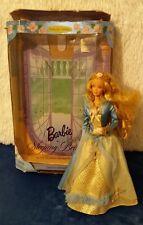BELLA Addormentata barbie con scatola Mattel Vestito Rosa