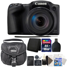 Canon PowerShot SX430 IS Digital Camera Black with Accessories
