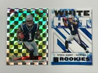 N'Keal Harry 2019 Donruss The Rookies RC & White Hot Rookies RC. 2 Card LOT🔥