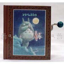 GENUINE JAPAN MY NEIGHBOUR TOTORO HAND SHAKE BOOK SHAPE MUSIC BOX