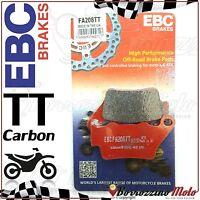 PASTIGLIE FRENO POSTERIORE EBC CARBON FA208TT KTM LC4 SC SUPERCOMP 625 2002