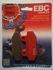 "Yamaha XTZ250 Lander (2007 to 2009) EBC ""TT"" FRONT Brake Pads (FA135TT) (1 Set)"