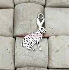 P786 20pc Retro Tibetan Silver rabbit Charm Beads Pendant Jewellery Making